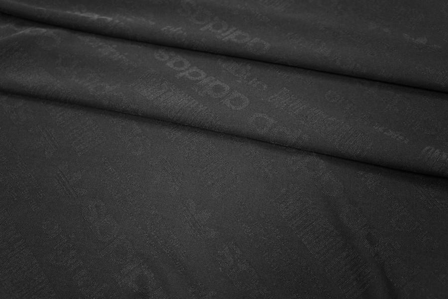 Трикотаж спортивный черный PRT1-K3 28031802