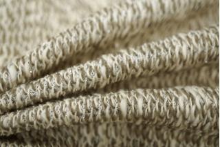 Трикотаж с люрексом бежевый PRT1-P4 28031820