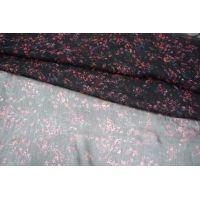ОТРЕЗ 2,0 М Шифон-креш шелковый цветы PRT1-J2 08021808-1