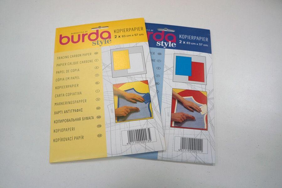 Копировальная бумага Burda 83х57см SK 1300 A