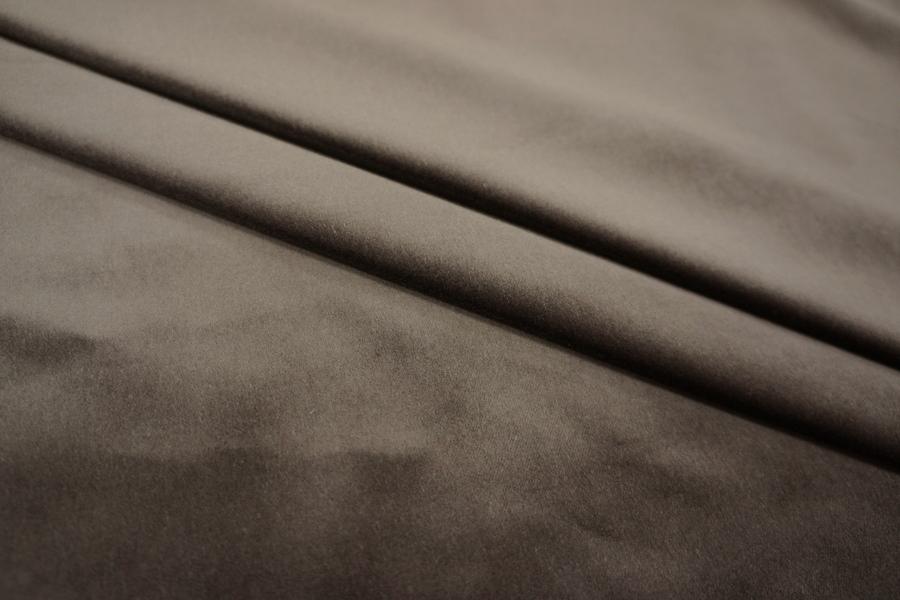 Бархат костюмно-плательный горький шоколад PRT-F4 14081809