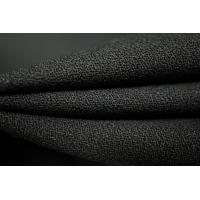 Шерстяной креп черный PRT-F4 21081832