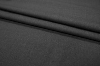 ОТРЕЗ 2,2 М Костюмная шерсть черная PRT1-G5 21081841-1