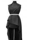 Хлопок костюмный черный PRT-M3 26071801