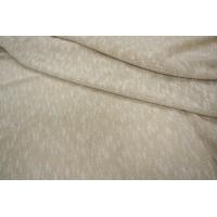 Трикотаж хлопковый светлый бело-бежевый PRT-M2 26071813
