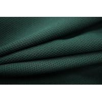 Костюмно-плательный полиэстер черно-зеленый PRT-M3 26071827