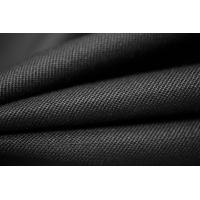 Костюмная шерсть-стрейч черная PRT-F4 22081803