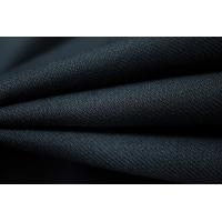 Костюмная шерсть-стрейч темно-синяя PRT1-G5 29081811