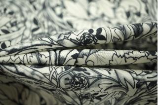 Хлопок под джинсу цветочный MX - B2 10071807