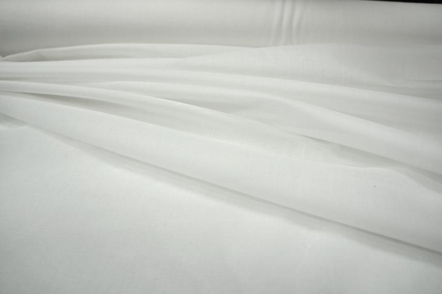 Дублерин хлопковый для тонких тканей белый 01091806
