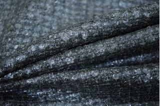 Шерстяная шанель сине-серая PRT-F6 06091809