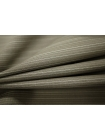 ОТРЕЗ 2,2 М Шерсть тонкая серо-бежевая в полоску Carnet PRT-K5 07091812-1