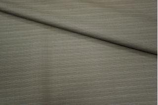 Шерсть тонкая серо-бежевая в полоску Carnet PRT-L3 07091812