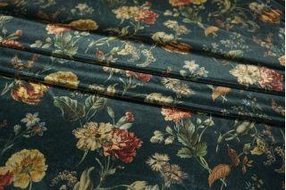 Бархат трикотажный цветы LEO1-A7 07111801