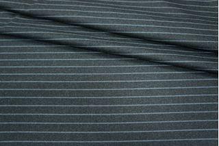 Костюмная шерсть темно-серая в полоску PRT-L3 10091803