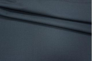 Костюмная шерсть темно-синяя фактурная PRT-L3 10091805