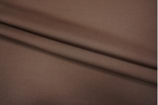 Костюмная шерсть шоколад Leitmotiv Super'S PRT 075-Е5 08101802