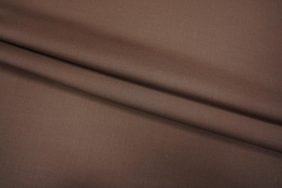 Костюмная шерсть шоколад Leitmotiv Super'S PRT 075-D5 08101802