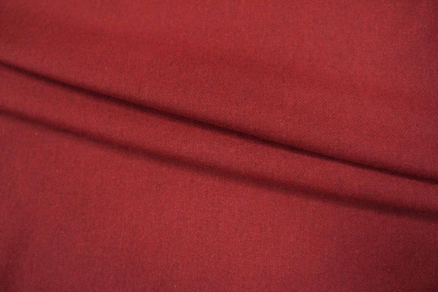 Фланель шерстяная красная PRT1-G3 08101807
