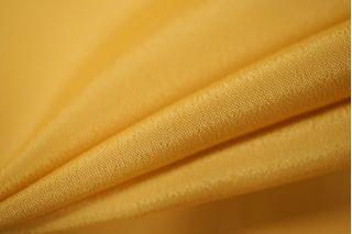 Крепдешин шелковый золотисто-горчичный PRT1 058-G2 01111801