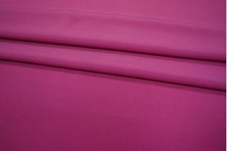 Крепдешин шелковый фуксия PRT1-D4 01111802