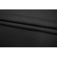 Крепдешин шелковый черный PRT1-D4 01111805