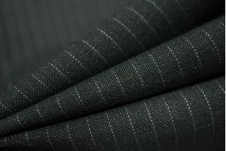 Костюмная шерсть серая в полоску PRT-K5 18091803