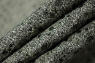 Плательный хлопок серый точки PRT-N1 01111838