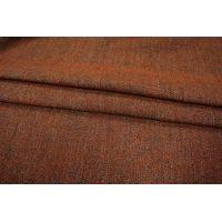 Костюмная шерсть букле коричневая PRT-M2 01111840