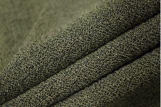 Марлевка шерсть с вискозой черно-зеленая PRT-M2 01111841