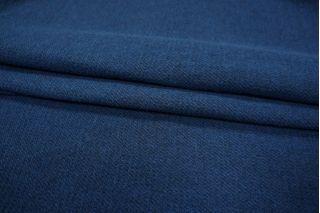 Костюмно-плательная шерсть синяя PRT 01111845