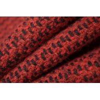 Шерстяная шанель бордово-черная PRT-M5 01111853
