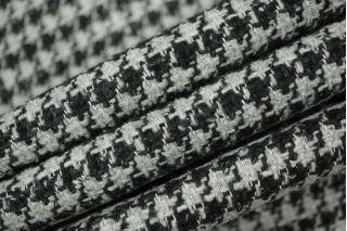 Твид костюмный шерстяной серо-черный PRT-N2 01111867