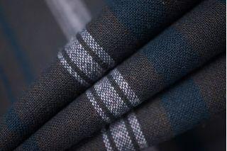 Плательная шерсть с вискозой в полоску PRT-K4 01111888