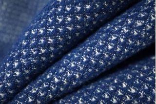 Костюмная шерсть бело-синяя PRT-N2 01111890