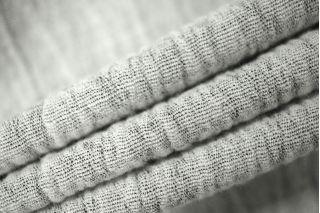 Плательная шерсть черно-белая креш PRT-O3 02111807