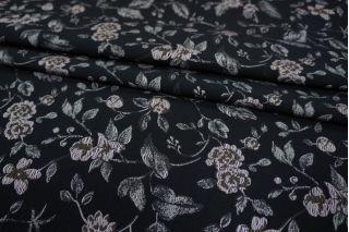 Жаккард костюмный цветы PRT-Q3 02111832