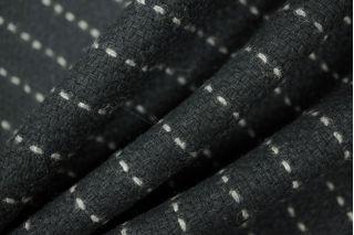 Пальтовая шерсть черная в пунктир PRT-N2 02111855
