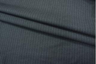 Костюмная шерсть темно-серая  в полоску Carnet PRT-L3 25091802