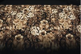 Шерсть плательная цветы КУПОН PRT-К4 26101811