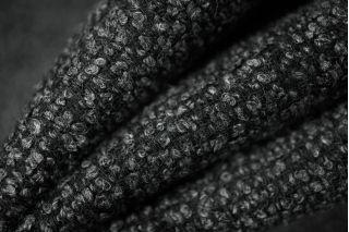 Костюмная шерсть букле серая PRT-P4 01111855
