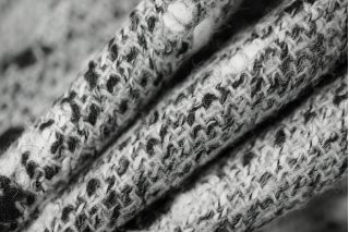Шерсть костюмная черно-серая PRT-O5 01111859