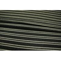 ОТРЕЗ 2,5 М Нарядный костюмный хлопок черно-золотистый PRT-K4 01111864-1
