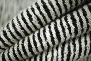 Костюмная шерстяная диагональ черно-белая PRT-N6 01111880