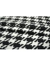 Костюмная шерсть гусиная лапка черно-белая PRT-P4 28111801