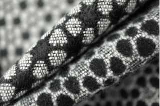 Пальтовый хлопок черно-белый PRT-N6 01111883