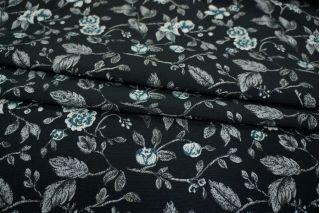 Жаккард костюмный цветы PRT-Q3 02111831