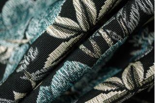 Жаккард костюмный листья PRT-Q3 02111875