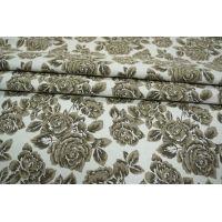 Жаккард костюмно-плательный цветы PRT-K4 02111878