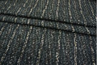 Костюмная шерсть букле в полоску PRT-N5 02111880